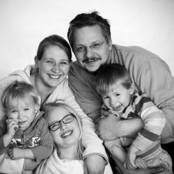 Familienshooting Familie A.