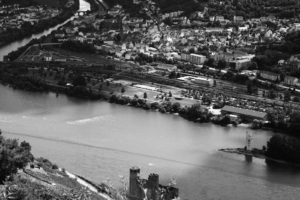 Rhein mit Binger Mäuseturm