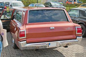 Plymouth GTX Heckansicht