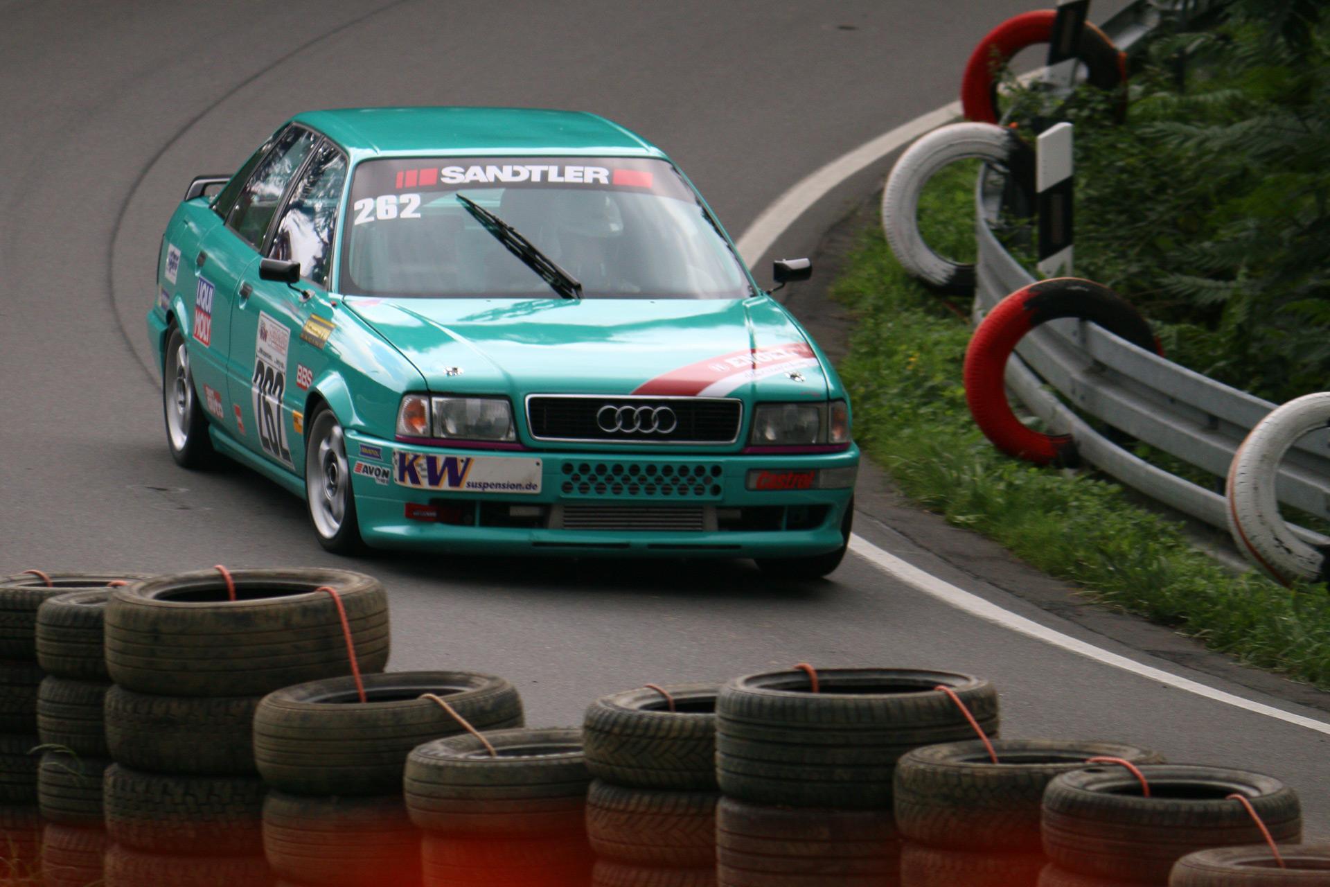 Der Audi 80 B4 (auch als Typ 8C bezeichnet) wurde im September 1991 von Audi vorgestellt.